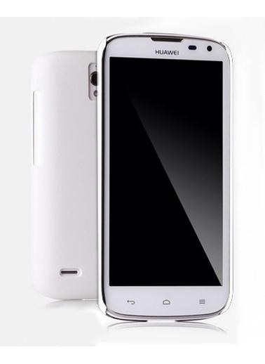 Microsonic Rubber Kılıf Huawei Ascend G610 Beyaz Renkli